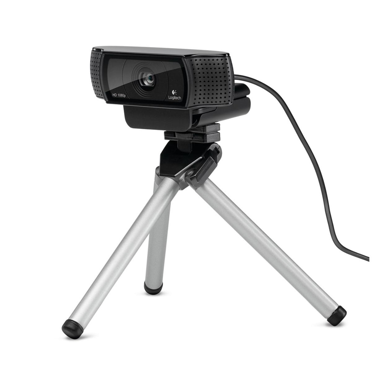 Logitech C920, 15 MP, 1920 x 1080 pixels, 720p,1080p, H.264, USB 2.0, Black