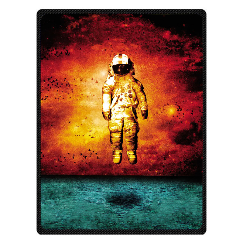 Deja Entendu bedspread blanket Super Soft Custom Flannel Blanket to on for the sofa/Bed/Car Portable Blankets
