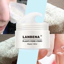 все цены на Blackhead Remover Nose Mask Pore Strip Black Mask Peeling Acne Treatment Black Deep Cleansing SkinCare By LANBENA онлайн