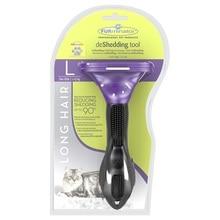 Инструмент против линьки FURminator для длинношерстных кошек больших пород