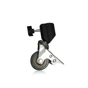 Image 4 - Konseen 3PCS Photo Studio Universal 22mm Caster Wheel for lighting stand Photo Studio Accessories Free Shipping