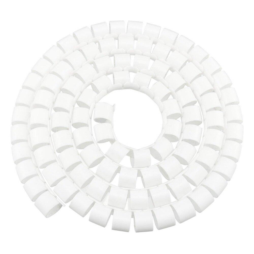 33Ft-4mm High Temp Fiberglass Sleeve White uxcell Insulation Braid Sleeving