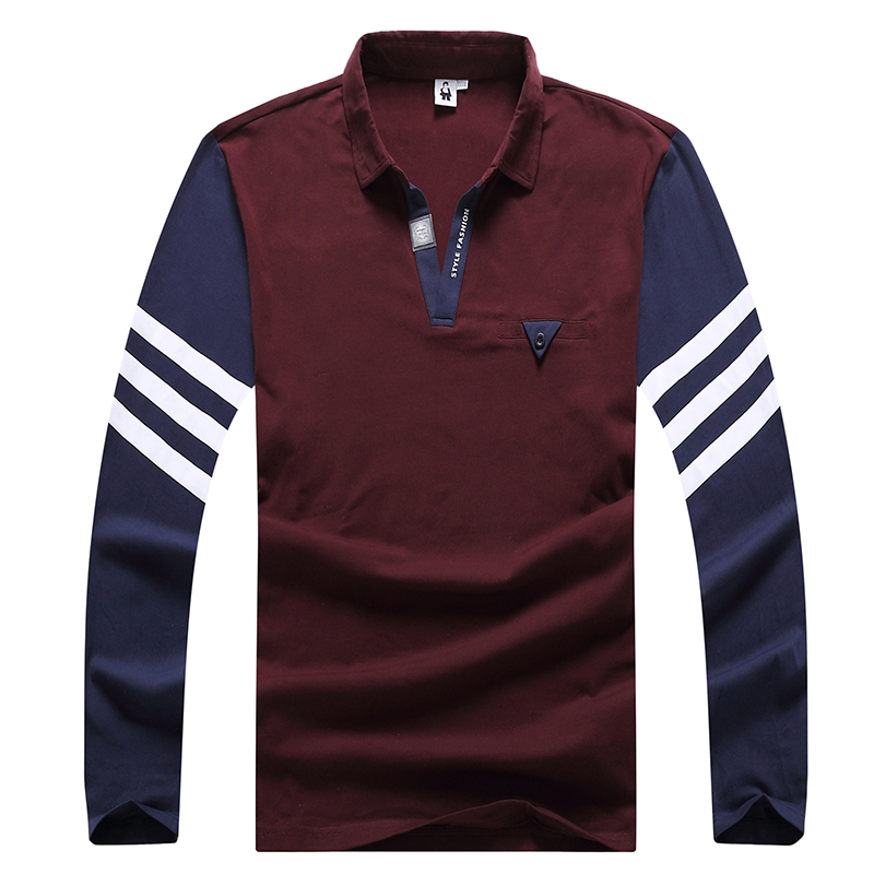 Plus size <font><b>8XL</b></font> 7XL 6XL 5XL Brand Men <font><b>Polo</b></font> <font><b>Hombre</b></font> Shirt Mens Fashion Collar shirts Long Sleeve Casual Camisetas Masculinas Plus Si image