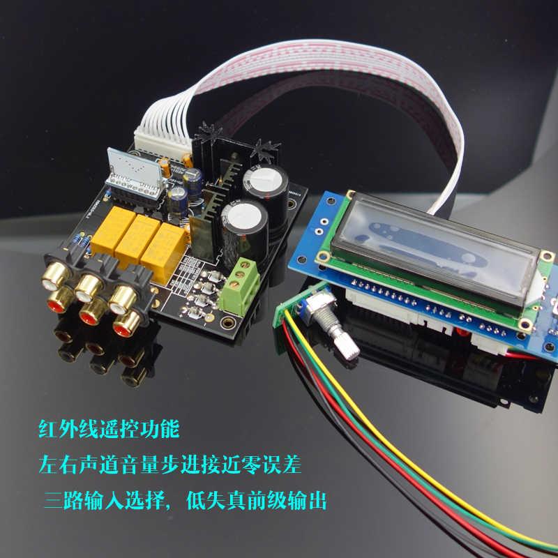 DIY KIT] F6 PGA2311/ PGA2310 Remote Preamp Board Kit/Remote