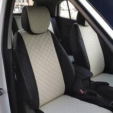 Для Hyundai Solaris седан 2011-2016 специальные чехлы на сиденья полный комплект автопилот эко-кожа ROMB