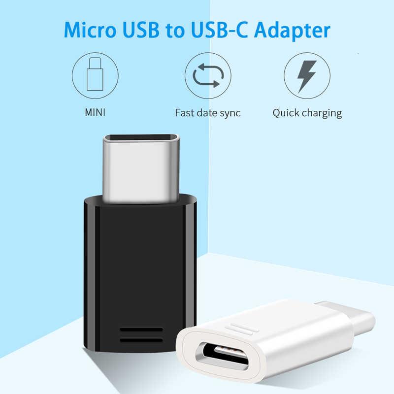 سامسونج S9 S8 زائد مايكرو USB إلى نوع C محول الأصلي أدائنا شاحن محول شحن Snelle الشحن Note8 C5 C7 c9 برو