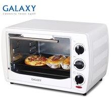 Мини-печь Galaxy GL 2615 (мощность 1400 Вт, объем 20 л, температурный режим 100-250°С, таймер, подсветка, 2 нагревательных элемента)