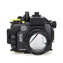 Seafrogs 40m 130ft Underwater Camera Housing Case for Panasonnic GH5 Waterproof Bags