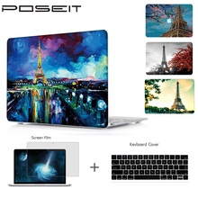 Plastic Hard Case Cover Color Shell Air 11 12 13 Pro 15 2016 for MacBook 13.3 15.4 with Retina