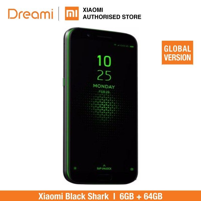 Global Version Xiaomi Black Shark 64GB ROM 6GB RAM Brand New and Sealed Blackshark in Cellphones from Cellphones Telecommunications