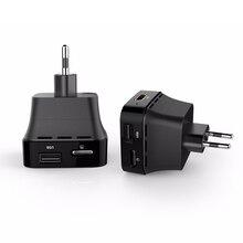 EU US UK Plug USB Charger Adapter 2GB/8GB Android 6.0 HD DLNA Wifi Display 3D Miracast Smart Mini PC TV Box Socket Plug Black