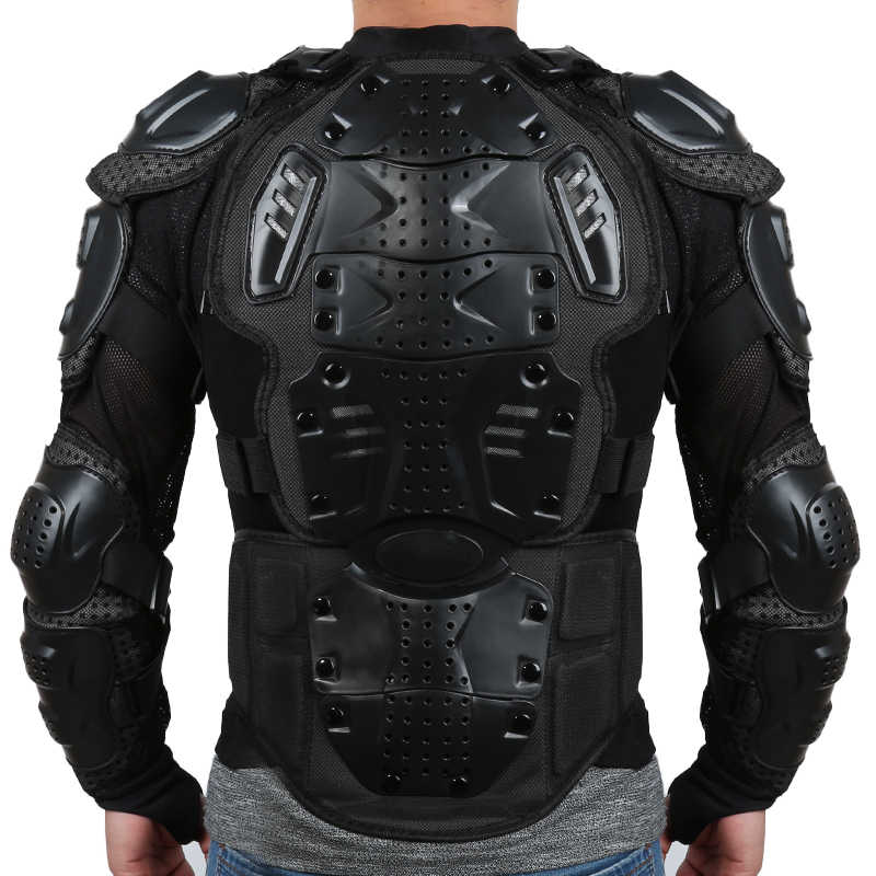 Motorcycle jacket Full Body Armor Motorcross Racing Pit Bike Chest Gear Protective Shoulder Hand Joint Protection S-XXXL