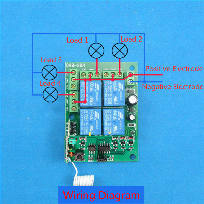 3000m DC 12V WiFi Relay Module 4 Channel Relay Wireless Remote ... on starter wiring, relay module circuits, keypad wiring, relay module connector, ignition coil wiring, control panel wiring, switch wiring, relay module arduino, relay module connections,