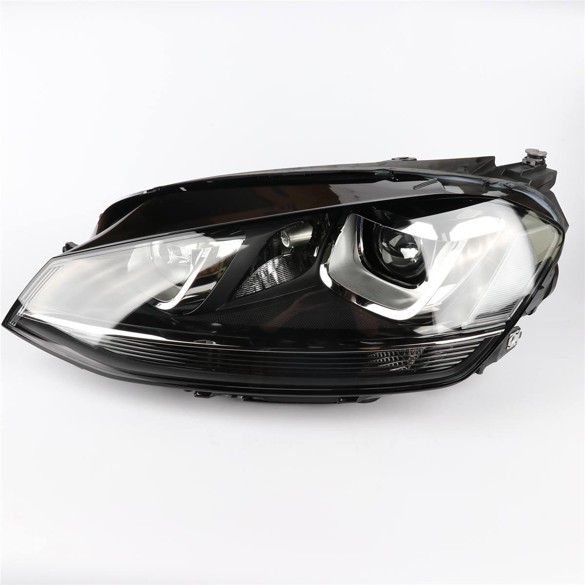 1шт левая сторона подлинный передней фары головного света лампы Ассамблеи для VW Гольф МК7 L5GG 941 031