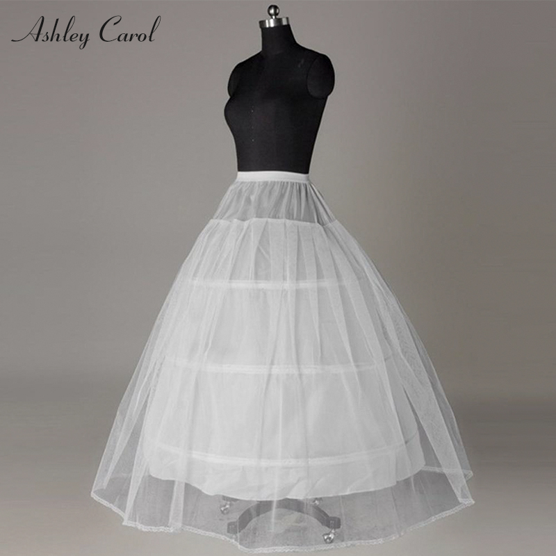 Ashley Carol  Hoops Crinoline A Line Wedding Petticoat