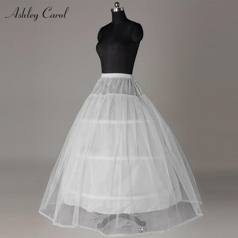 Hoops Crinoline A Line Wedding Petticoat Falda