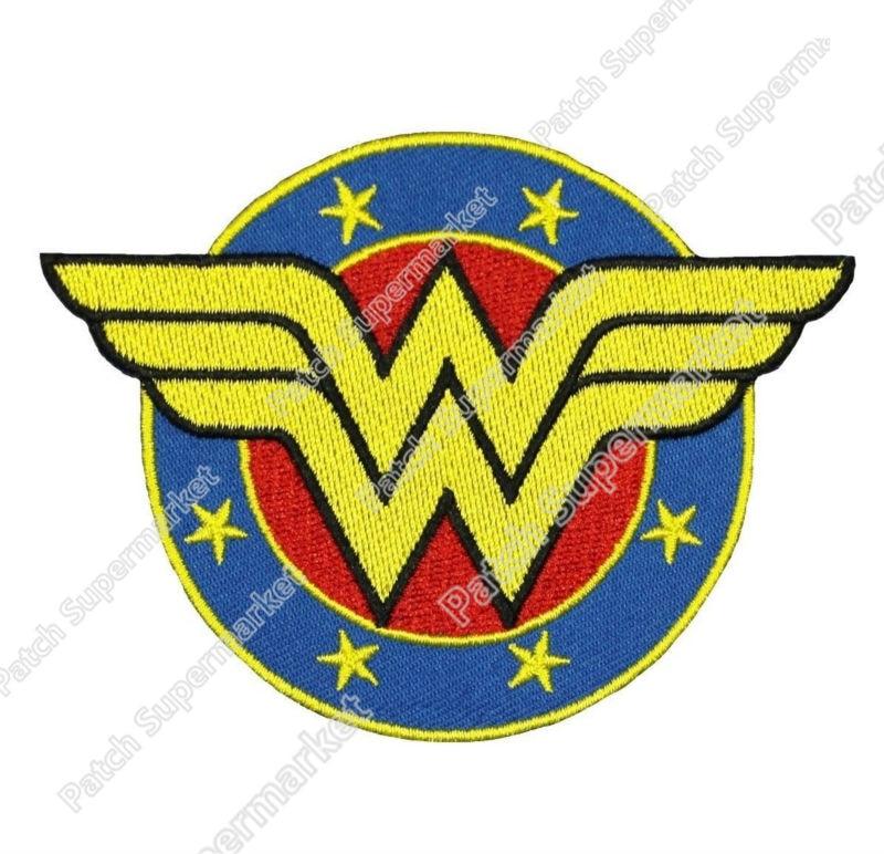Mulher Maravilha Escudo Emblema Iron On Patch De D C Dc Comics