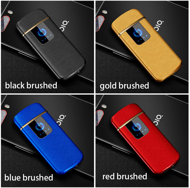 Tungsten Turbo USB Lighter Touch-senstive Switch Lighter Cigarettes For Smoking Ciga Electronic Lighter engrave