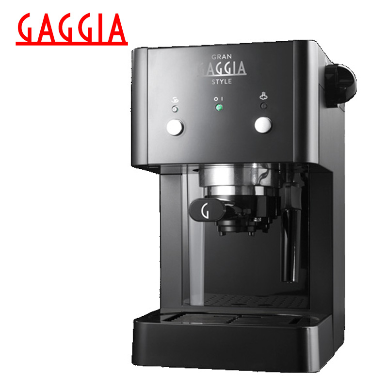 цены на Coffee Machine Gaggia Gran Style Black в интернет-магазинах