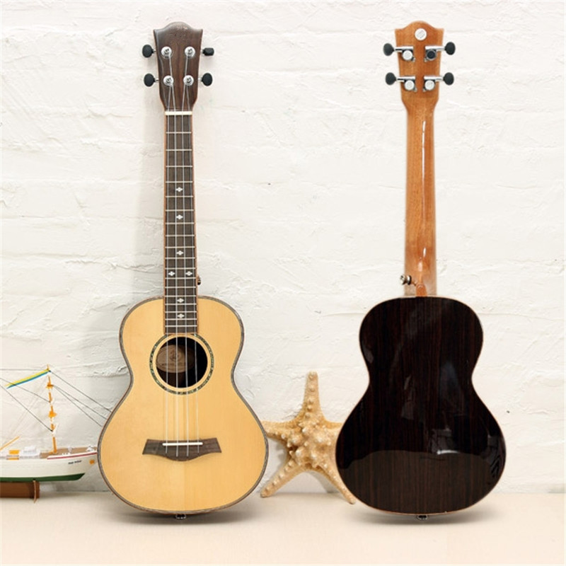 26 Inch 4 Strings Spruce Panel Guitarra Electric Guitar Concert Ukulele For Musical Stringed Instruments Lover