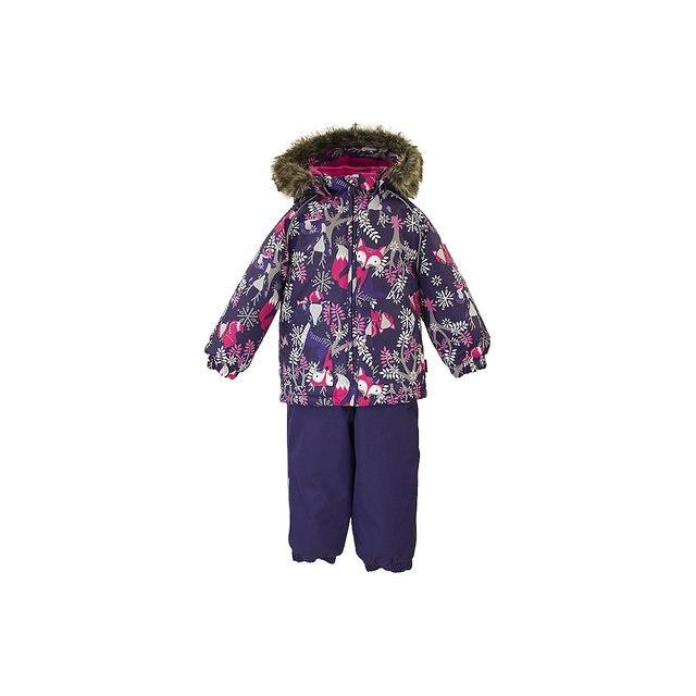 Комплект: куртка и брюки  Huppa для девочек