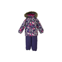 Kinder Sets HUPPA für mädchen 8951850 Winter Track Anzug Kinder Kinder kleidung Warme