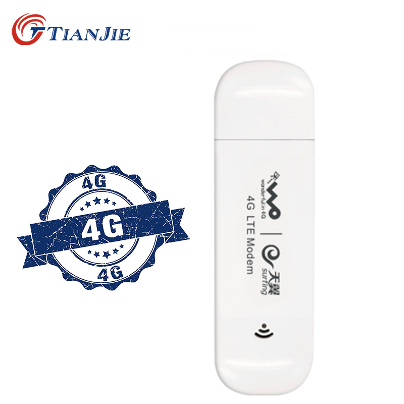 TIANJIE Stick Network-Dongle Usb-Modem Unlocked Sim-Card-Slot Universal 4G with 3 LTE-BAND