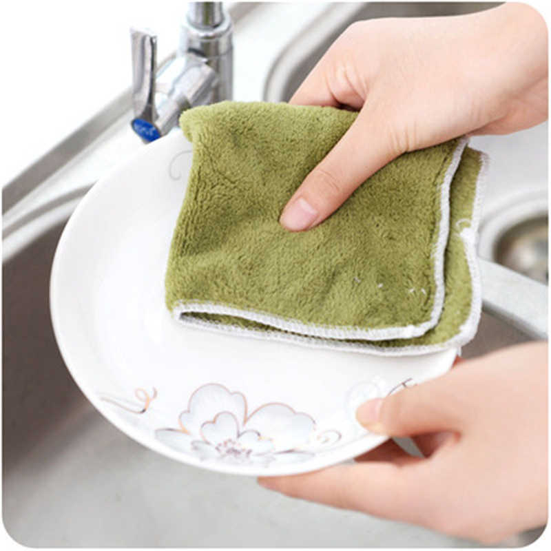 T non-oil absorbent dishcloth kitchen fiber dishwashing cloth B745 dishcloth does not drop wool hundred cleaning cloth
