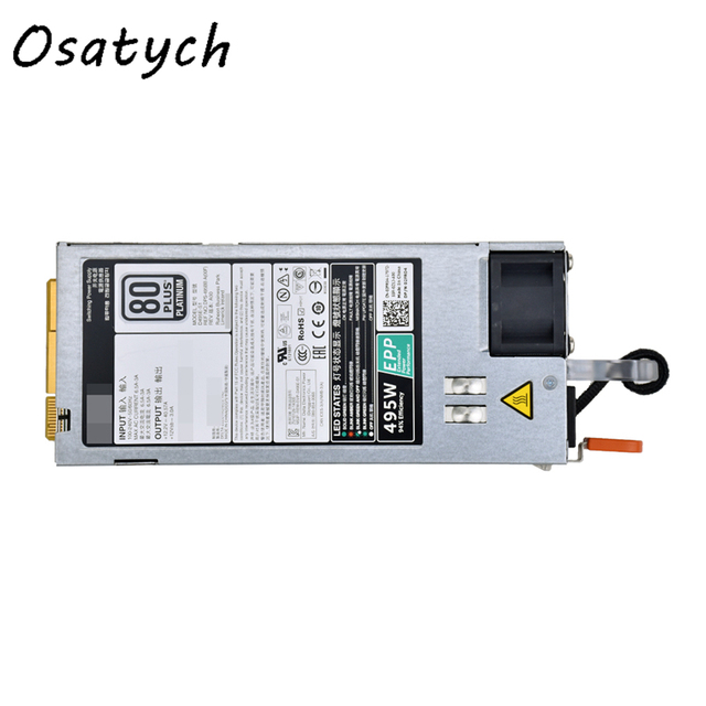 US $124 8 10% OFF|For Dell R730/R630/R730XD/T630 495W Power Supply 9338D  E495E S1-in PC Power Supplies from Computer & Office on Aliexpress com |