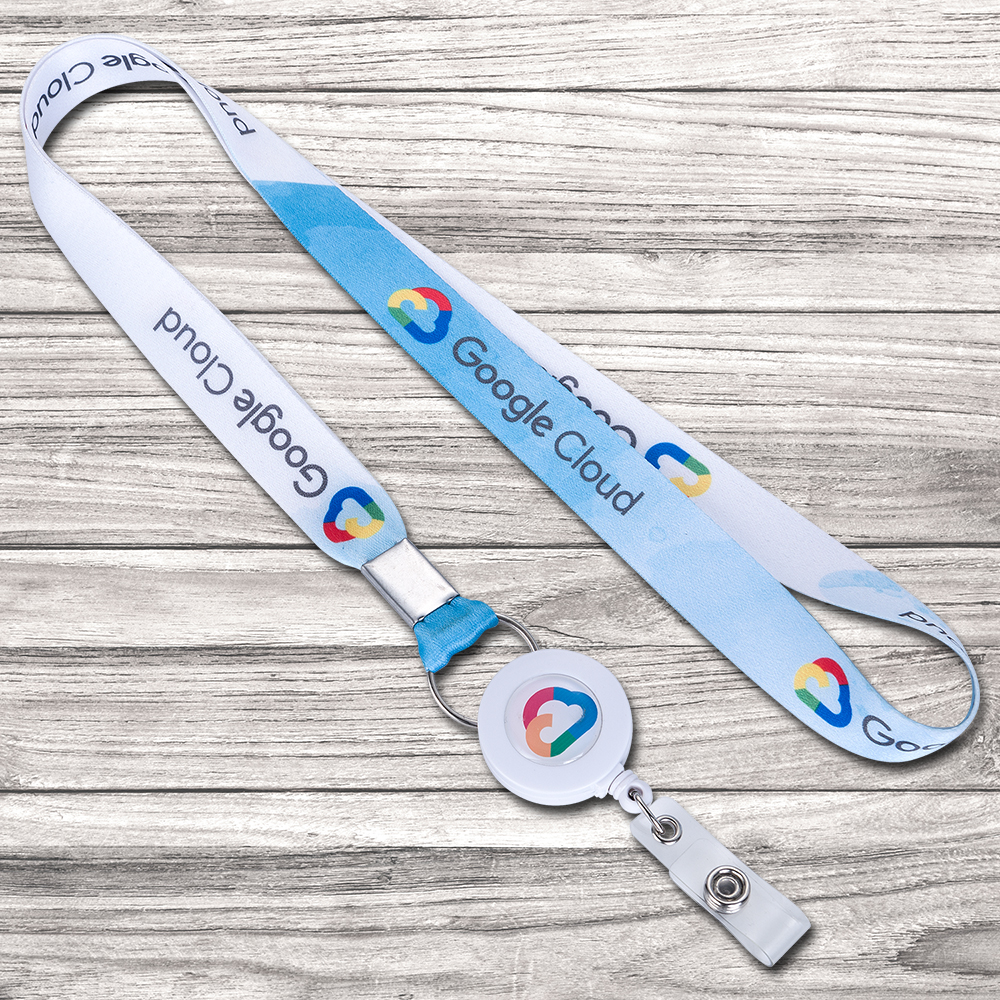 US $2 98 |No MOQ Custom cheap price off white lanyard for id badge neck  lanyards for id cards for office and corporate ID Badge holder-in Badge  Holder