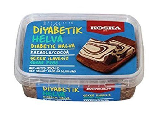 Sugar Free Tahini Halva, Diabetic, Pistachio, Plain, Cocoa By KOSKA