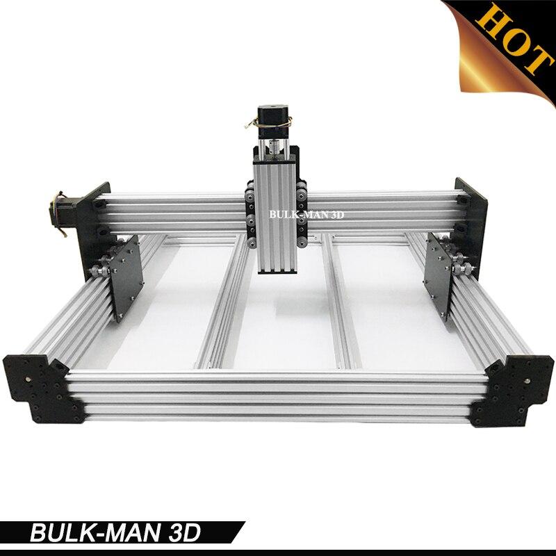 Trasporto Libero WorkBee Macchina del Router di CNC kit, WorkBee CNC Meccanico kit