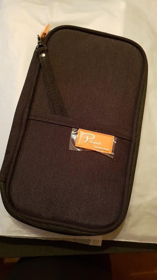 LHLYSGS Vrouwen Reisdocument Organisator Paspoort Kaart Pakket Creditcardhouder Portemonnee Mode Multi Pockets Kaart Pakket photo review
