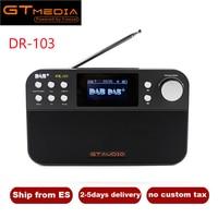 Portable Radio GTMedia DR 103B Digital FM Radio DAB+Radio Stero For UK EU With Bluetooth Built in Loudspeaker Support TF Card