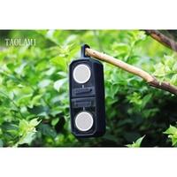Newest TWS Mini Portable Bluetooth Speaker Transparent Crystal Magnet Wireless Speakers Super Bass Resonant MP3 Music Player