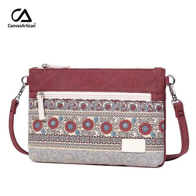 Womens Floral Messenger Shoulder Bag Small Cross Body Purse Satchel Casual Bags