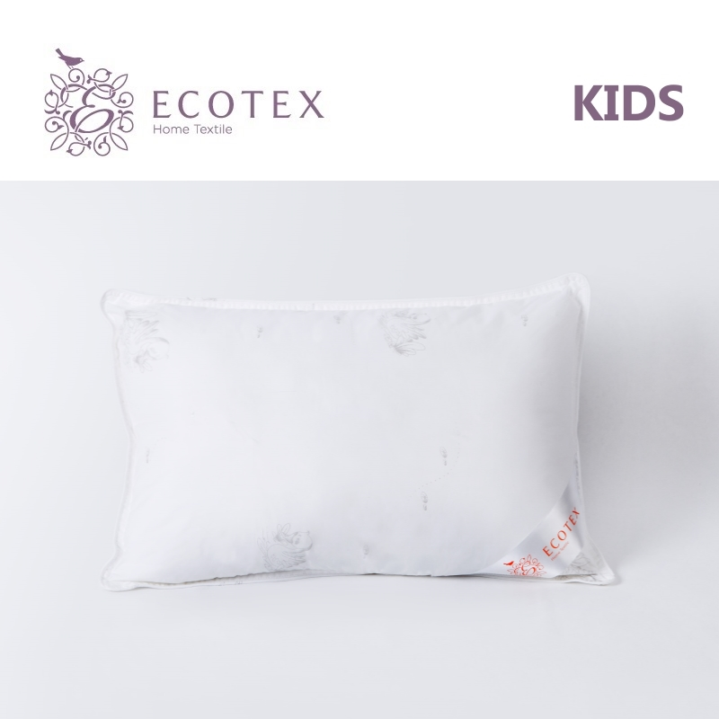 Pillow Baby Line Swan's down,collection Premium. Production company Ecotex(Russia). pillow argo collection premium production company ecotex russia