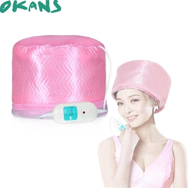 Saç Bakımı Cap Salon SPA Steamer Saç Termal Tedavi Besleyici Saç Maskesi Pişirme Yağı Kap saç kurutucular Isı Şapka