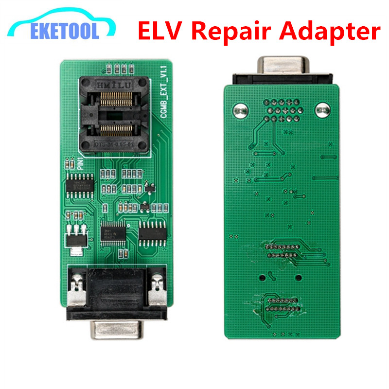 CGDI Original ELV Repair Adapter With CGDI MB For Benz Key Programmer W204 W207 W212 W209 W906 Reparing Locked ChipCGDI Original ELV Repair Adapter With CGDI MB For Benz Key Programmer W204 W207 W212 W209 W906 Reparing Locked Chip