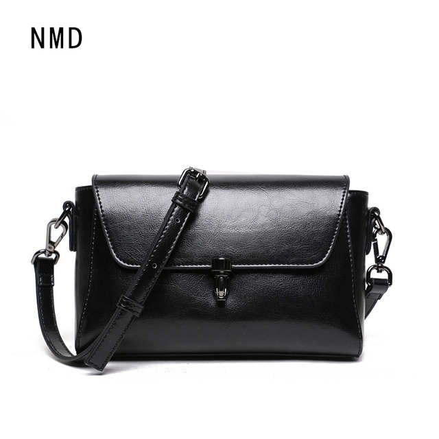 NMD Lovely Girl Cowhide Small Crossbody Bag Women Messenger Bags Genuine  Leather Lady Bag Famous Brand top sale Shoulder Bag