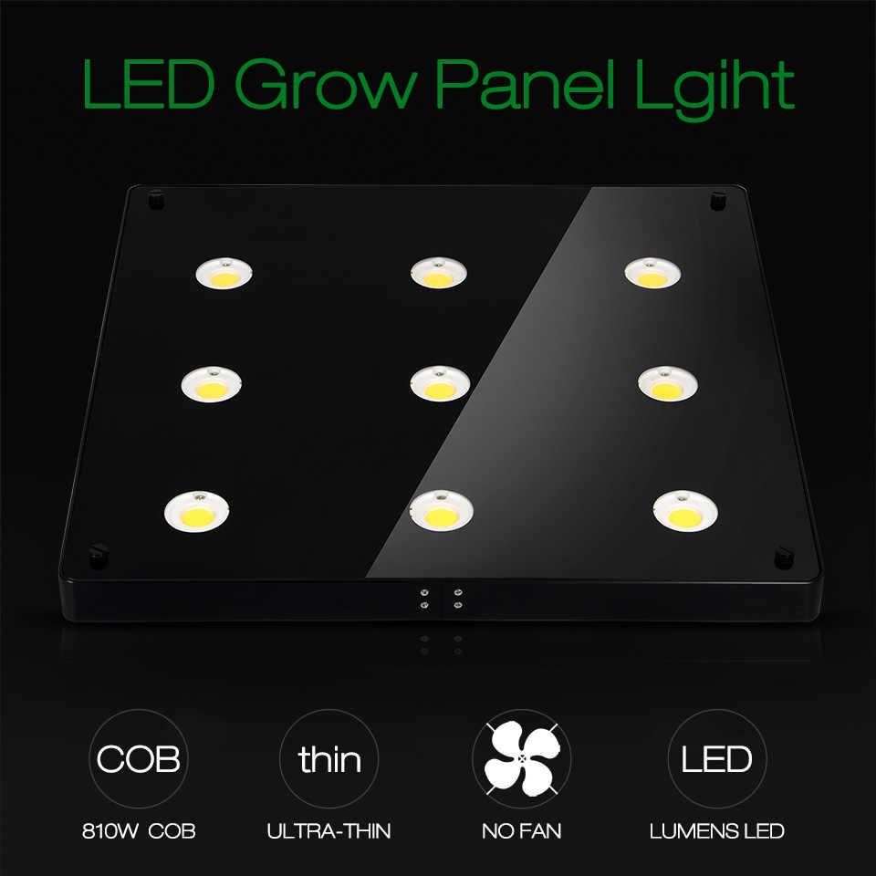 Ультра-тонкий COB светодиодный светильник для выращивания растений, полный спектр BlackSun S4 S6 S9 светодиодный панельный светильник для комнатных гидропонных растений