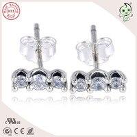 Популярные Новая коллекция Простой Дизайн 925 серебро ручки серьгу