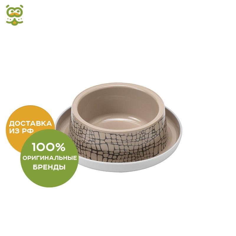 Moderna Wildlife plastic non-slip bowl, 350 ml., Beige цены