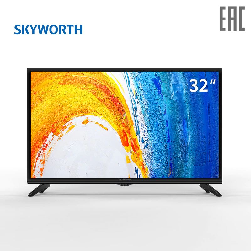 TV LED Skyworth 32W4 32 3239InchTv dvb dvb-t dvb-t2 digital television TV 32 inch