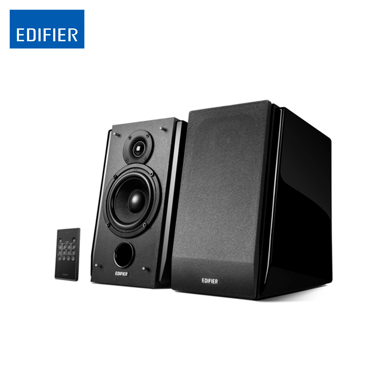 Bluetooth speaker Edifier R1850DB Active Bookshelf Speakers Optical Input Digital Audio portable music Audio Line smal a6 hifi digital amplifier 50wx2 dac digital 110v 220v native dsd512 usb optical coaxial lp player cd analog input