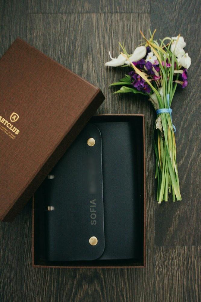Блокнот-планер в обложке из кожи с индивидуальной гравировкой с Алиэкспресс