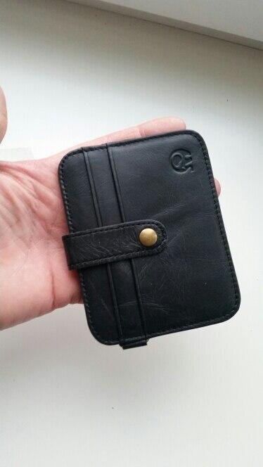 Unisex Vrouwen Man Echt Portemonnee Koppeling Portemonnee Eenvoudige Kaarthouder Tas ID Creditcard Munthouder 88 WML99 photo review