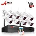ANRAN Sistema di Telecamere di Sicurezza Wifi 8CH NVR Con 1080 P HD Esterno Visione Notturna Macchina Fotografica del CCTV Video Sistema di Sorveglianza