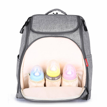 Maman Mummy Bag Mom Shoulders Package Insular Mothers Backpack Maternity Baby Carriage Wet Isolation Pad Trolley Hook