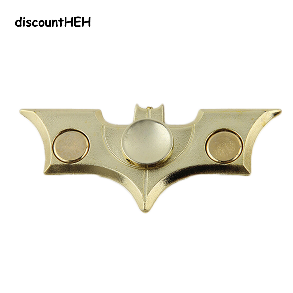 Bat Shape Fidget Spinner Plastic EDC Fidget Toy Adults Focus Anti Stress Gifts New Hand  ...